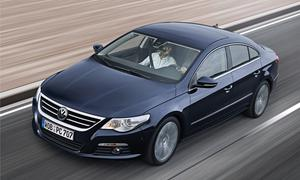 VW Passat CC Exclusive Mittelklasse-Limousine kommt ab Juni 2010
