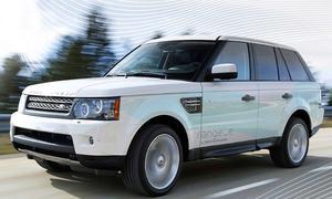 Land Rover plant schrittweise den Übergang zum Elektro-Auto. Stufe eins ist ein Hybrid-Range in 2013