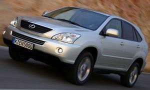 Lieblinge der Autodiebe: Lexus RX 400h
