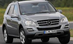 Mercedes ML 350 CDI im SUV-Vergleichstest