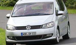 VW Sharan 2.0 TDI DSG Frontansicht