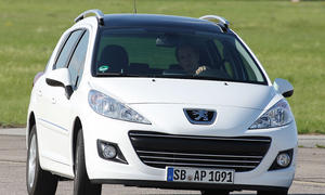 Peugeot 207 SW HDi FAP 90 Frontansicht