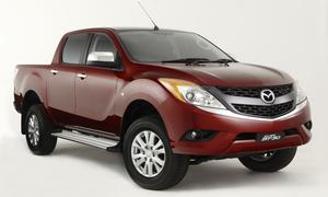 Mazda BT-50 Pick-up Frontansicht