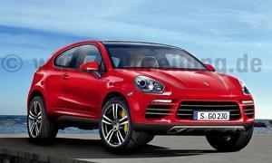Neue SUV und Geländewagen Porsche Cajun