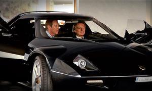 New Lancia Stratos by Brose und Ferrari-Präsident Luca di Montezemolo