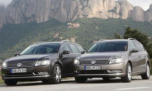 VW Passat Variant 2.0 TDI VW Passat Variant 2.0 TDI gegen Passat Variant 1.8 TSI