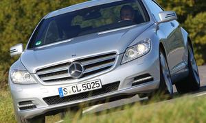 Mercedes CL 500 BlueEFFICIENCY Facelift Front