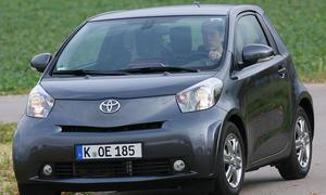 Toyota iQ 1.0 VVT-i Kleine Wendekreise