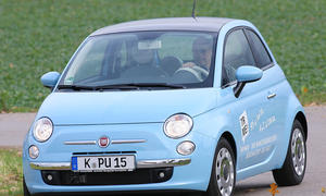 Fiat 500 TwinAir ...macht den ersten Platz