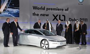 VW XL1 Quatar Motor Show 2011 Premiere