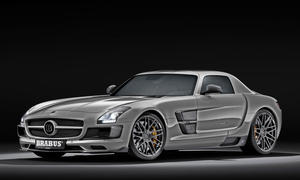 Brabus 700 Biturbo Mercedes SLS AMG Supersportler