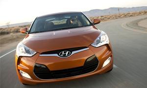 Hyundai Veloster Coupe im Sommer in Deutschland zu haben