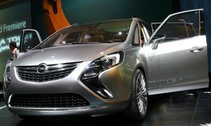 Opel Zafira Tourer Concept  Genfer Autosalon 2011