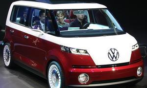 VW Bulli Studie Elektrobus Genf 2011