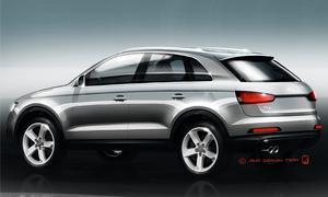 Audi Q3 Skizze 2011