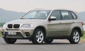 BMW X5 xDrive30d mit 222 km/h Spitze