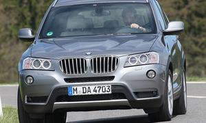 Bilder BMW X3 xDrive30d Fahrdynamik