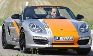 Bilder Porsche Boxster E 2011 Fahrbericht
