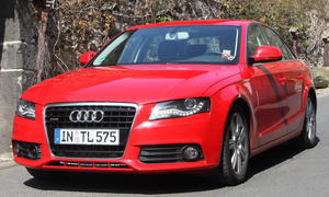 Mit dem Audi A4 3.0 TDI quattro durch malerische Orte