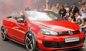 VW Golf GTI Cabriolet Concept