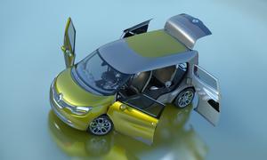 Renault Frendzy Studie IAA 2011 Mischung aus Familienvan und Transporter