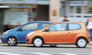 Renault Twingo und Toyota Aygo sind knapp berechnet
