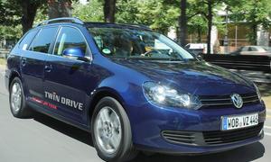 VW Golf Variant TwinDrive Fahrbericht 2011