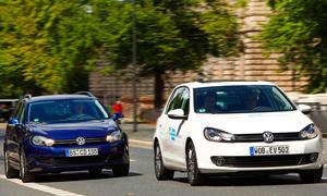 VW Golf blue-e-motion VW Golf Twin Drive Vergleich