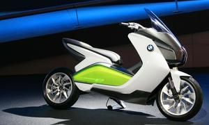 Designstudie BMW Concept E IAA 2011 Frankfurt