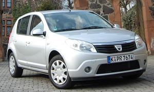 Dacia Sandero 1.6 MPI - 100.000 km mit dem Sandero
