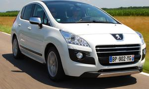 Verbrauch des Peugeot 3008 HYbrid4
