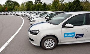Volkswagen Quicar Carsharing-Projekt startet mit 200 Golf 1.6 TDI BlueMotion