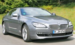 BMW 650i Coupé Front