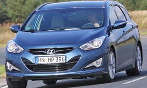 Hyundai i40cw 1.7 CRDi - Die Front