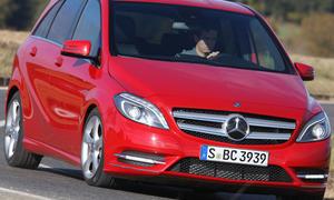 Mercedes B 200 BlueEFFICIENCY - Komfort