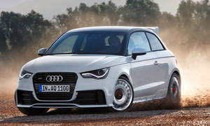 Audi A1 Quattro Sondermodell limitiert 2012 Allrad 256 PS