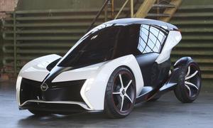 Opel RAKe - Rundum-Verglasung