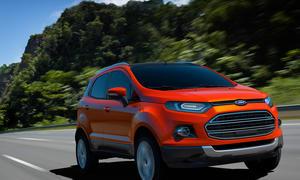 Ford EcoSport SUV Indien Auto Expo Neu-Delhi 2012