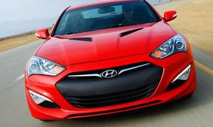Hyundai Genesis Coupé Facelift 2013 Detroit Auto Show 2012