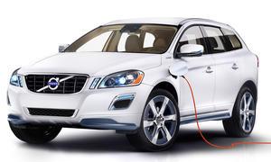 Volvo XC60 Plug-In-Hybrid Concept für die Detroit Auto Show 2012