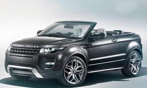 Range Rover Evoque Cabrio Auto Salon Genf 2012 Studie SUV-Cabrio