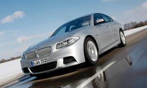 Bilder BMW M550d xDrive 2012