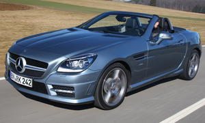 Bilder Mercedes SLK 350 BlueEFFICIENCY Vergleich
