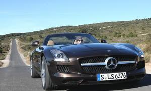Bilder Mercedes SLS AMG Roadster 2012 Einzeltest