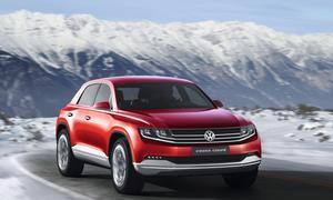 VW Cross Coupe Studie Genf 2012 Diesel-Hybrid-Antrieb