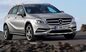 Neue Modelle BMW Mercedes 2012 - Mercedes A-Klasse-SUV