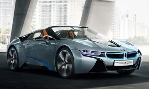 BMW i8 Spyder Concept Innenraum Peking Auto China Show 2012