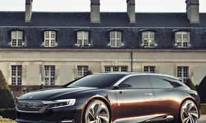 Citroen DS9 Plug-In-Hybrid Auto China 2012 Peking Numéro 9 Oberklasse Shooting Brake Studie Concept Car