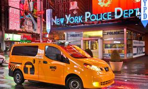 New York Taxi 2012 Nissan NV200 NY City Cab 2012