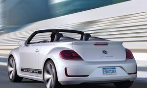 VW Beetle Cabrio Auto China 2012 Peking E-Bugster